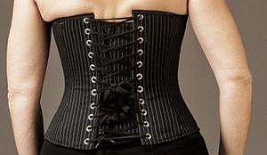 Pinstripe Black-White