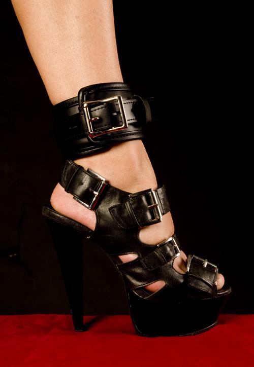 Vegan - PU - Ankletcuffs