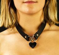 Heart locker collar
