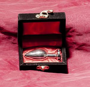 Anal jewelry Pink Midi 200 grams