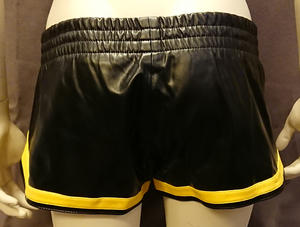 Short Sport Shorts in PU/Vegan Leather (different colors)