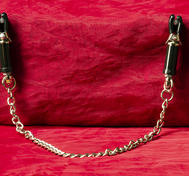 Big Adjustable Nipple Clamps with Chain