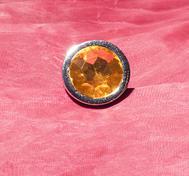 Anal jewellry Yellow Large