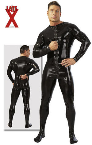Men's Latex Jumpsuit