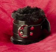Locking Ankle Restraints with Fur