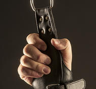 Leather Handcuffs for suspension