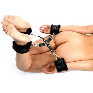Hogtie set in PU leather
