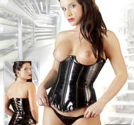 Corset with thong