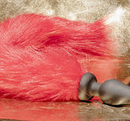 Fox Tail Red, Silicone Plug